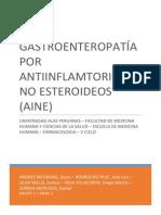 Evaluación Del Daño de La Mucosa Gástrica Por Diclofenaco