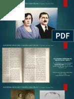 Agustín Bocchio, Ma. Luisa Rejas, Pastel de Choclo y Giacomo Bocchio Viacava