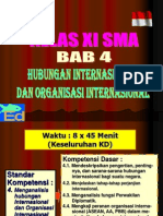 Bab IV Hubungan Internasional