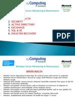 Server Maintenance1