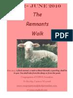 Remnant's Walk_Apr-June 2010