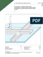 Knauf Gips Tavane Placi Gipscarton d11 PDF