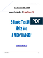 5 Books That Will Make You a Wiser Investor