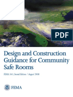Design and Construction Guidance for Community Safe Rooms