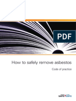 How to Safely Remove Asbestos Code of Practice