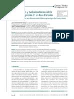 Articulo Singularidades y Evolucion Tecnica Presas Canarias - Rev Obras Publicas