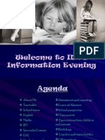 ID2 Parents' Information Evening[1]