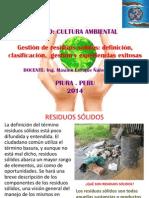 Clase 11. Gestion de Residuos Solidos