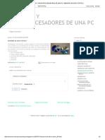 Memorias y Microprocesadores de Una Pc_ Memoria de Disco Óptico