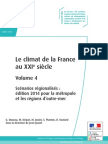 ONERC Climat France XXI Volume 4