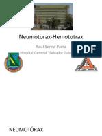 Neumotorax-Hemototrax