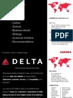 Delta Air strategies
