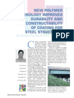 New Polymer Technology Improves Durability and Constructability of Coatingfor Steel Structures(2)