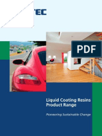 Technology Liquid Coating Resins Liquid Coating Resins Product Range Emea English