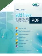 OMG Americas - Additives Brochure