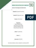 Metodo Simplex y Duplex
