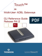 SpeedTouch 500 CLI Reference Guide