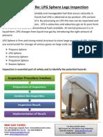 NDT Forum, Re LPG Sphere Legs Inspection