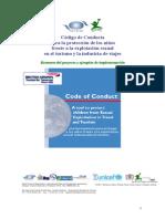 Código de Conducta Para La Protección de Los Niños en El Turismo