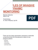 Principles of Invasive Hemodynamic Monitoring Xxx