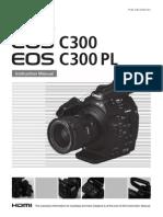 Canon EOS-C300_ Manual