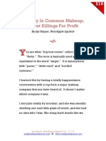 Toxicity in Common Makeup by Jay Harper