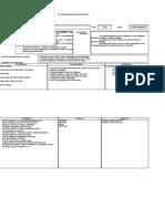 Modelo Planificacion Unidad Didactica 1º Nivel