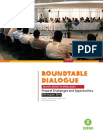 Report on ROUNDTABLE DIALOGUE Present Challenges and Opportunities 12th August, 2014 ON CHILI MARKET IN BANGLADESH