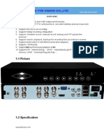 DVR5408C Specification-TTB Vision Co.,Ltd-www.ttbvision.com
