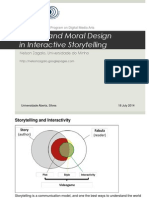 Choice and Moral Design in Interactive Storytelling