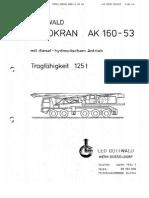 Loadchart of Gottwald AK 160-53