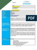company detailed description linerprinter