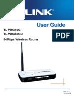 Tl-wr340g v4 User Guide