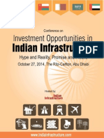 Conf Investment Opportunities in Indian Infrastructure 0ct2014