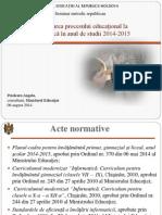 Organizarea Procesului Educational La Informatica 2014-2015