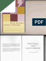 Heidegger - The End of Philosophy