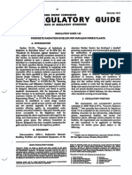 ANS Regulatory Guide