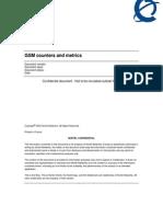 Nortel GSM Counters and Metrics