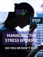 Managing the Stress Epidemic