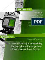 Layout Planning (Operations Management)