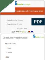 Gestão Informatizada de Documentos - PowerPoint