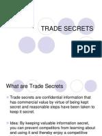 8.Trade Secrets