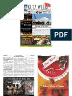 "Kuta Weekly-Edition 404 ""Bali""s Premier Weekly Newspaper"""