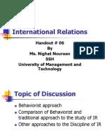 6.Behaviorst Apporach in IR