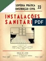 Fasciculo 23-Instalações Sanitárias