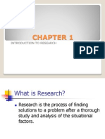 1. Introduction to Business Research
