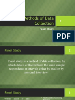 9. Methods of Data Collection