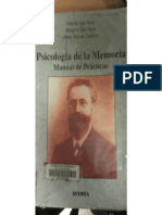 Psicología de La Memoría_manual de Prácticas
