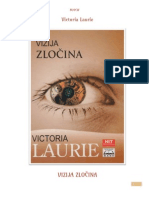 Victoria Laurie - Vizija Zlocina