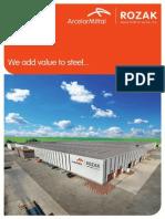 Arcelor Mittal Tanıtım Broşürü